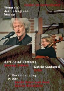 Plakat_Bomberg_Konzert_141102