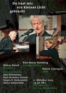 Plakat_Bomberg_Konzert_150928