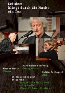 Plakat_Bomberg_Konzert_151118