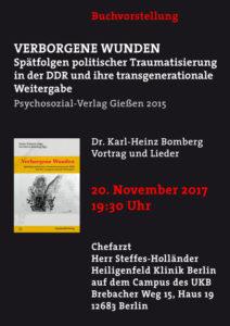 Buchvorstellung Karl-Heinz Bomberg