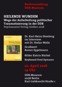 Buchvorstellung Im Ddr Museum Karl Heinz Bomberg